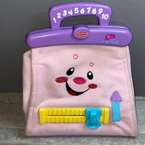 Fisher-Price Laugh & Learn Learning Pink Purse Toy